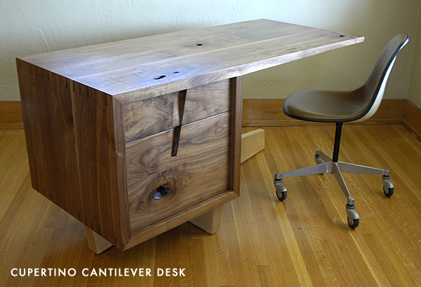 cupertino cantilever desk