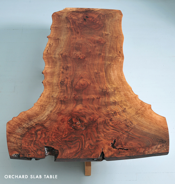 orchard slab table
