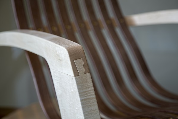 modern rocking chair dovetail